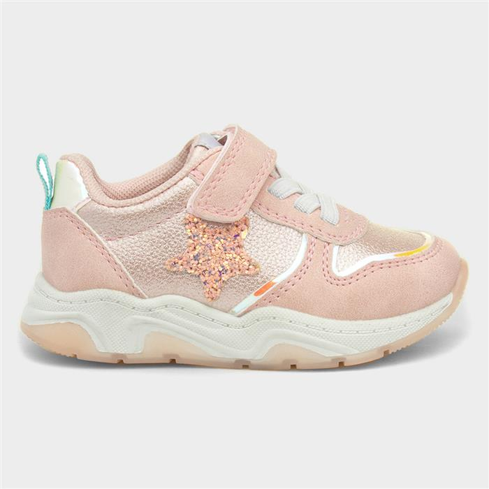 Sprox Girls Easy Fasten Trainers in Pink